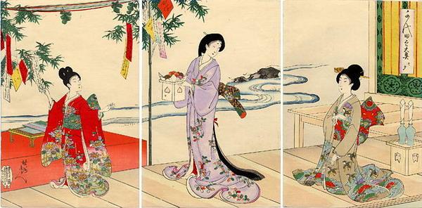 Chikanobu_Yoshu-Ladies_in_Waiting_of_the_Chiyoda_Palace-Tanabata_Festival-00033612-021228-F06