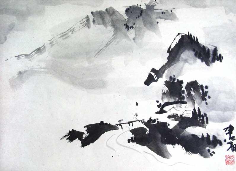 Ink-Landscape