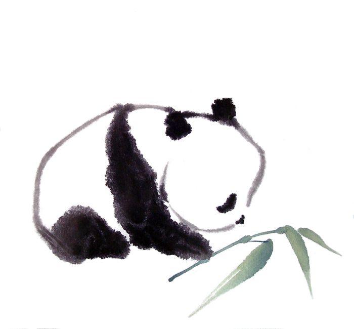 panda-sumie