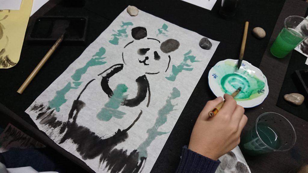 talle-sumie-infantil-panda